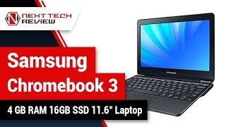 Samsung Chromebook 3 XE500C13 K02US 4 GB RAM 16GB SSD 11 6 inch Laptop Product Review  – NTR