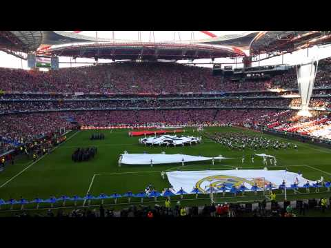 Real Madrid - Atletico Madrid 4-1 Uefa Champions League Final 2014 - Opening Ceremony