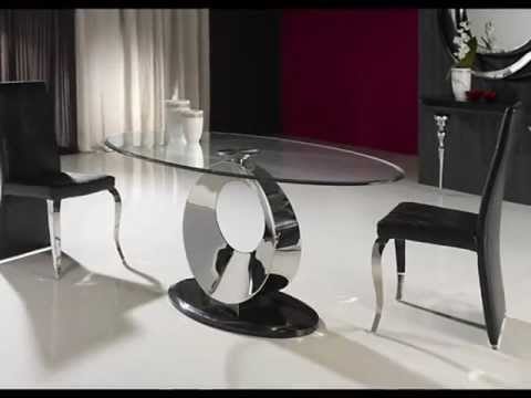 Mesas de acero ideas decoracion comedor salon youtube - Decoracion centros de mesa comedor ...