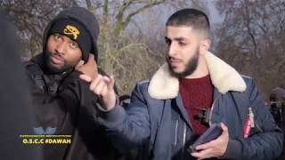 Video: Black Man is a Slave in Libya. Where dem protests at? - Ali Dawah vs Kalam