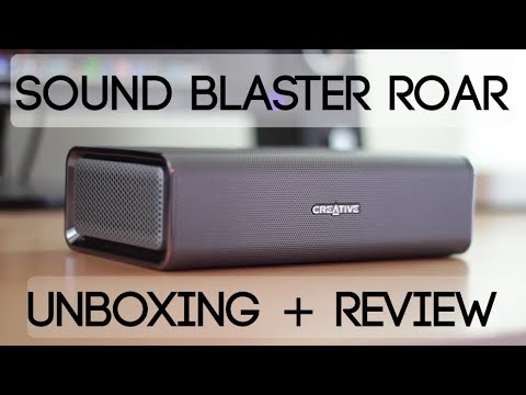 Sound Blaster Roar SR20 Speaker Unboxing + Review!