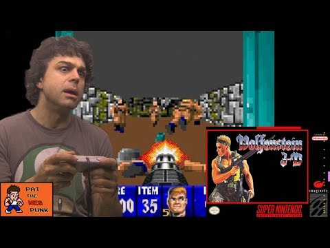 Wolfenstein 3D (SNES) - Pat the NES Punk