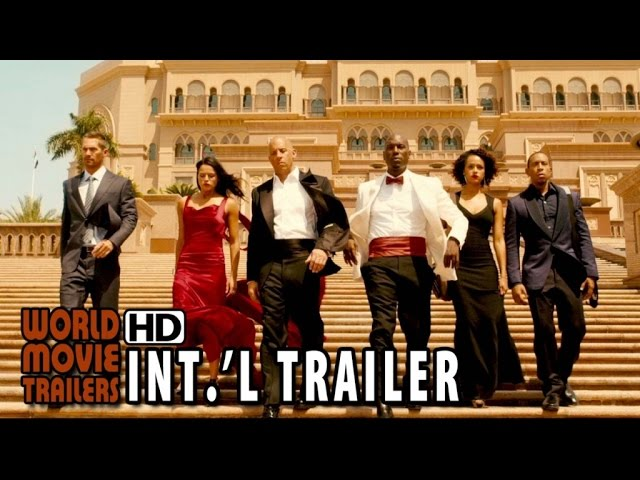 Fast & Furious 7 International Trailer #2 (2015) - Vin Diesel, Jason Statham HD