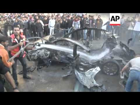 Hamas says Israeli airstrike in Gaza kills head of its military wing