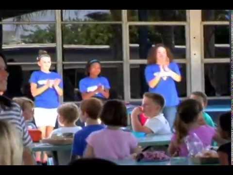 HAPPY Flash Mob @ Sierra Vista Elementary School - 06/11/2014