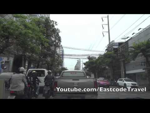 Soi Thonglor road view Sukhumvit 55 Bangkok