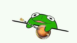 Banjo Frog (Kermit) - Bongo Cat Meme