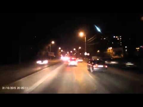 Метеорит над Калининградом 31 октября 2015