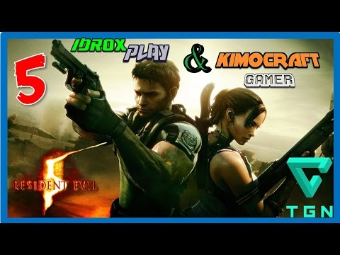 Resident Evil 5 Walkthrough Part 5 ( Normal Chapter 2-1 ) Español HD