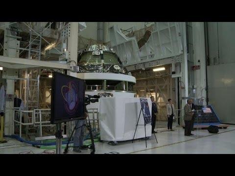 NASA unveils Orion spacecraft, set to explore deep space