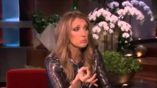 Celine Dion Vocal Warms Up With Ellen
