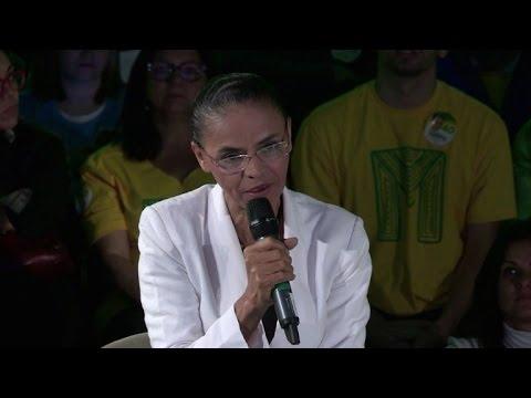 Marina Silva não revela apoio no segundo turno