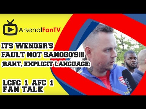 Its Wenger's Fault Not Sanogo's!!! (Rant, Explicit language).