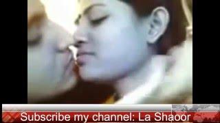 Beautiful kiss between boy and girl