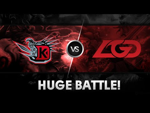 TI4 Memories: Huge battle by DK vs LGD
