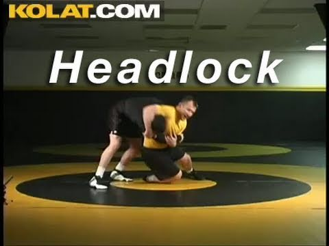 Headlock from 2 on 1 KOLAT.COM Wrestling Techniques Moves Instruction Image 1