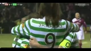 Adam Matthews Amazing Goal   Arbroath vs Celtic   0-1
