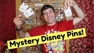 Unboxing DISNEY PARK BADGES Mystery Collection! *Limited Release*
