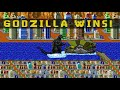Godzilla Vs Monsters 8 Bit Cinema