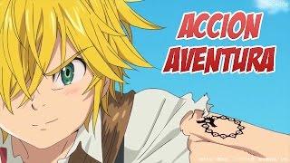 Top 10 Mejores Animes Accion/Aventura [Animes Cortos]