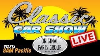 Original Parts Group Classic Car Show 2014 Live Stream