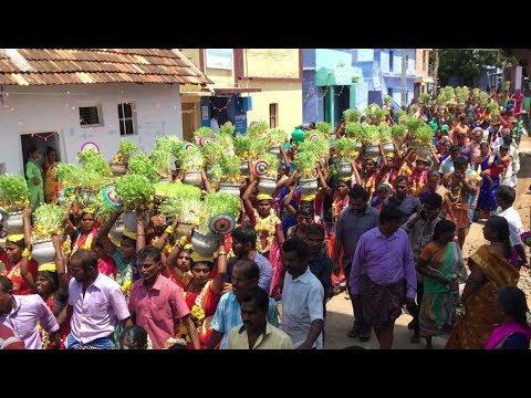 எங்கள் கிராமத்து முளைப்பாரி திருவிழா - உடையாம்புளி  | Udayampuli muppidathi amman koil thiruvizha