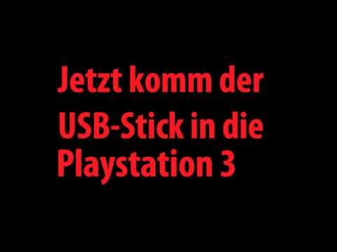 USB-Stick / Festplatte an Playstation 3 anschließen
