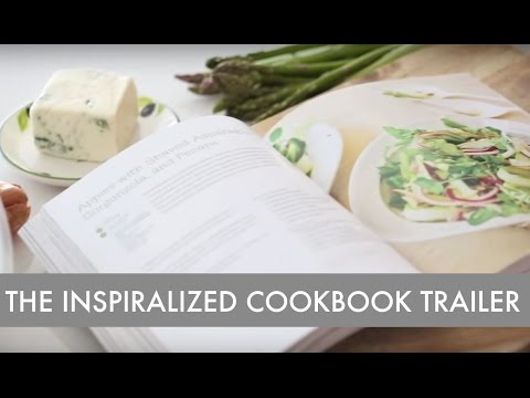The Inspiralized Cookbook Trailer: The definitive resource for cooking with a spiralizer.