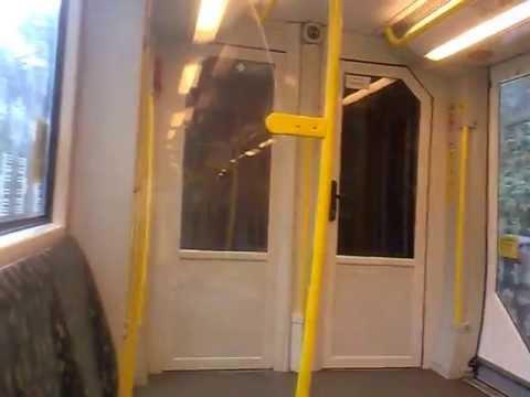 Berliner U-Bahn: U2 Mitfahrt im HK von Ruhleben bis Kaiserdamm