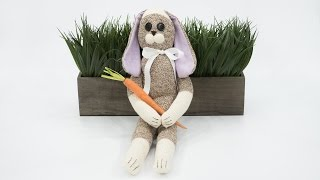 How to Sew a Sock Rabbit