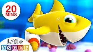Baby Shark 3D | Where are my Teeth? | Johny Johny Yes Papa | Nursery Rhymes by Little Angel