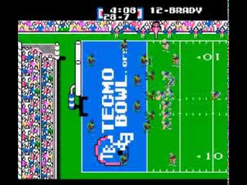 Tecmo Super Bowl 2014 (tecmobowl.org hack) - Netplay Tournament Week 8 - User video