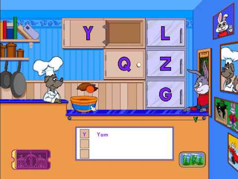 Reader Rabbit Preschool - Part 1: ABC Diner (Ticket 1)