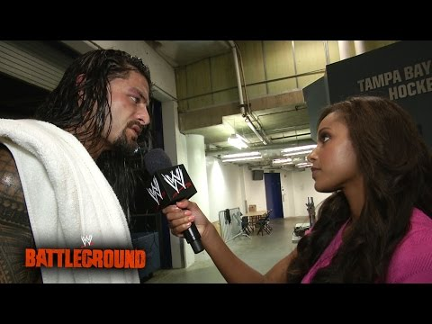 A Defeated Roman Reigns Looks Ahead To Raw: Wwe Battleground 2014 video