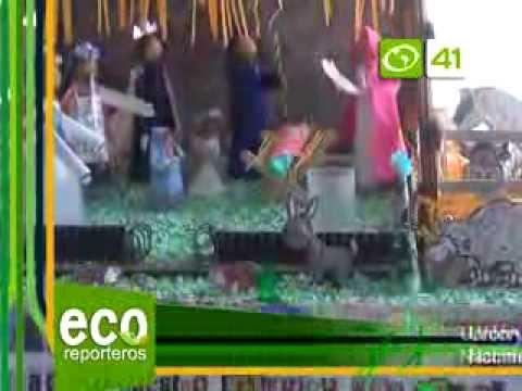 150 ECORREPORTEROS NACIMIENTOS CON MATERIAL RECICLADO xvid