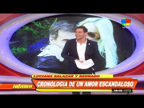 ¿Luciana Salazar y Martín Redrado se encontraron en un hotel?