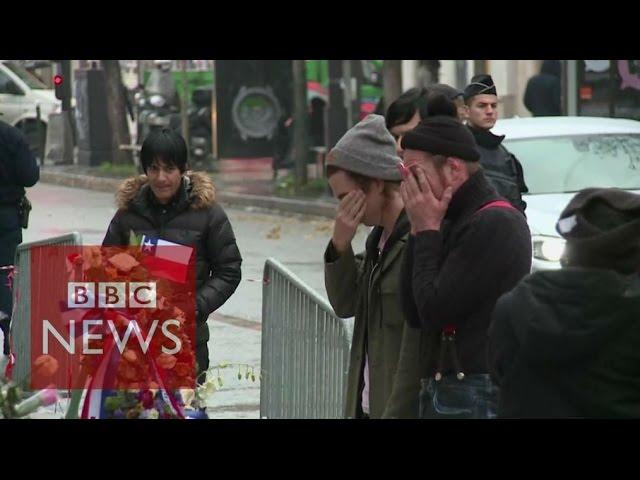 Bataclan: Eagles of Death Metal visit scene of massacre - BBC News