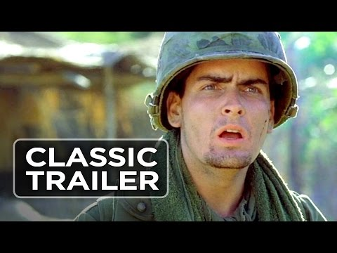 Platoon Official Trailer #1 - Keith David Movie (1986) HD