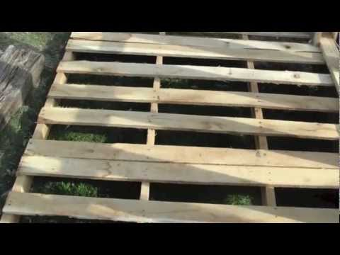 How to Build Free or Cheap Shed from Pallets DIY Garage Storage