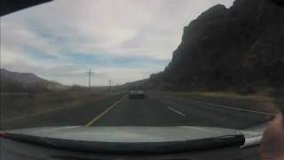 GoPro Hero 2 Road Trip Time Lapse - Portland, Oregon to Nampa, Idaho - HD
