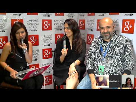 Hangout with Anita Dongre at LFW W/F 2014 #MMFridays