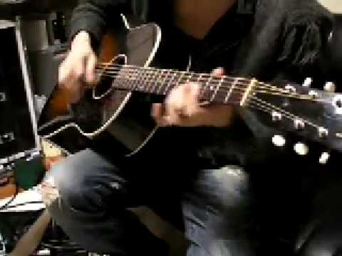 やってみた。 布袋ギター KILL BILL バンビーナ