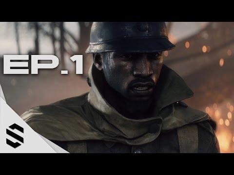 【戰地風雲1】- PC特效全開中文劇情電影60FPS - 第一集 - Battlefield 1 - Episode 1 - 戰地1 - 最強無損畫質