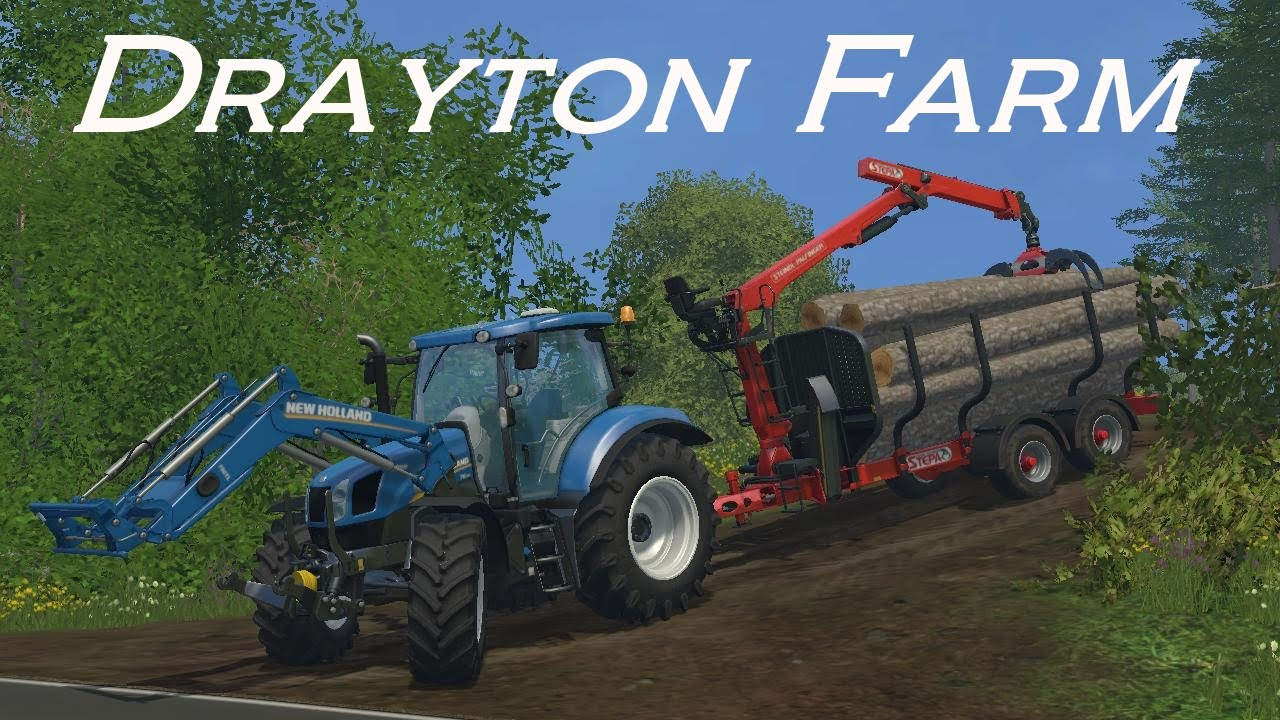 Farming Simulator 15 Farm Farming Simulator 15 Drayton