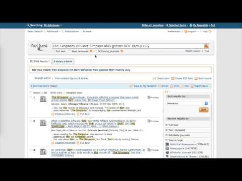 Boolean Search Tutorial