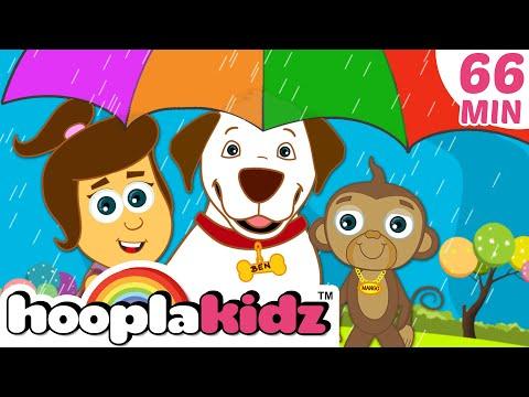 Rain, Rain, Go Away And Many More Nursery Rhymes | Hooplakidz Best Nursery Rhymes Compilation video