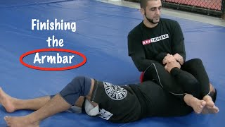 Brazilian Jiu-Jitsu - Finishing the Armbar - Firas Zahabi