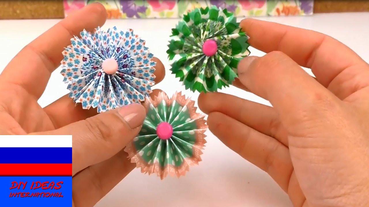 Цветы в 3д своими руками