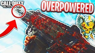 Fastest Melting SMG in COD BO4 | Best Spitfire WILD FIRE Class Setup After Update 1.10