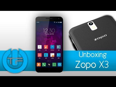 Unboxing Zopo 3X   Celular gama alta a un bajo valor